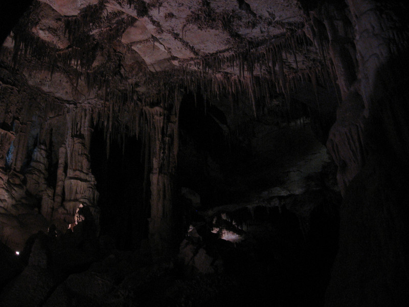 I took the 9 a.m. tour of Lehman Cave the next morning.