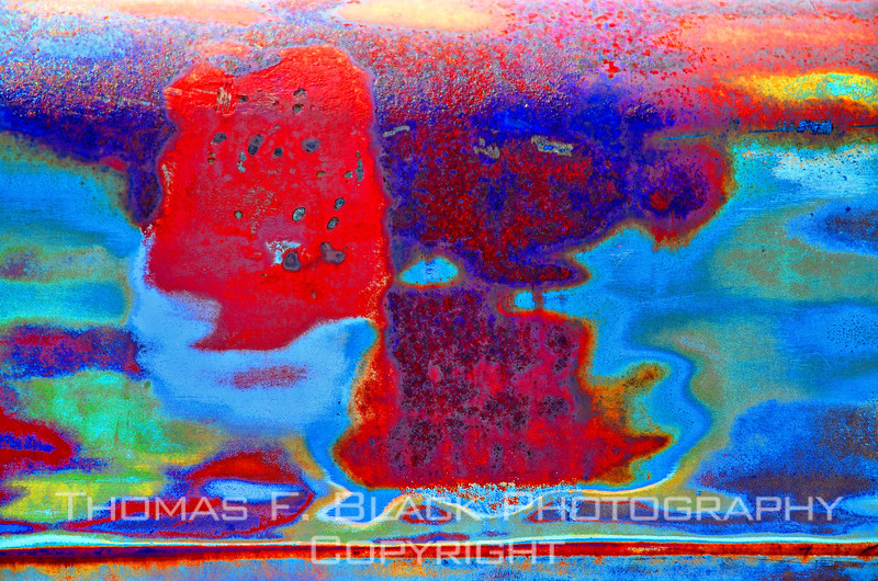 """Now we're talking """"amoeba."""" Instant abstract art, would look nice over living-room mantel. [UFP082312]"""