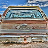 """Buick """"Sport Wagon,"""" guessing early 1970s. Note trailer hitch -- no extra charge. [UFP082312]"""