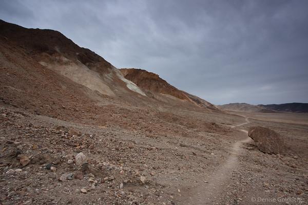 trail hugging hills