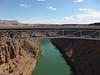 Navajo Bridge over Marble Canyon.