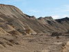 081231_7545 Badlands (eroded lakebed sediments) seen from road through Twenty Mule Team Canyon