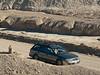 081231_7567 My car on road through Twenty Mule Team Canyon
