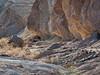 081231_7520 Tilted sedimentary deposits in Twenty Mule Team Canyon
