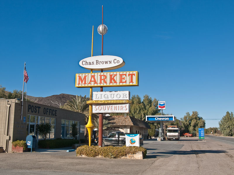 081231_7686 Chas. Brown market and gas station in Shoshone