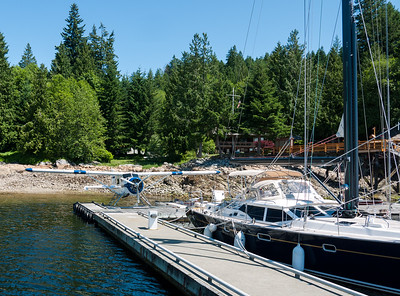 Dock at Bliss Landing