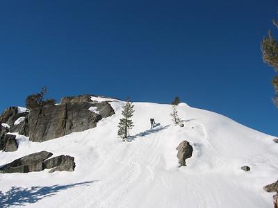 climbing the final peak