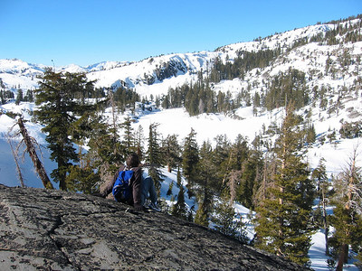the Desolation Wilderness