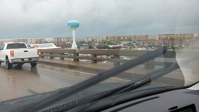 2012-06-09 Finally made it to Destin, lots of rain on the way
