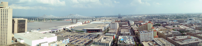 View from Harrah's New Orleans Hotel