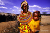 Samburu woman with baby