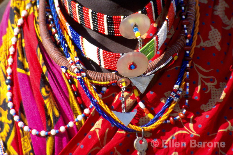 Maasai adornment
