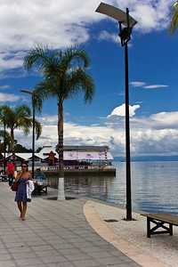 Strolling the malecon, Lago de Chapala, Ajijic, Jalisco, Mexico.