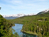 Kenai River as viewed from the  Kenai Princess Wilderness Lodge, Alaska.