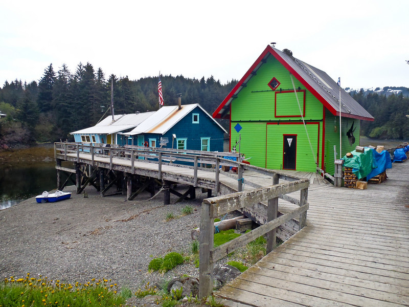 At the remote tip of the Kenai Peninsula is Seldovia - a picture-perfect Native village (pop. 282). Colorful boardwalk. Homer environs.