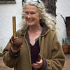 Jill Smallcombe, earth art and architecture creative, near Drewsteignton , Dartmoor National Park, Devon, England, U.K.