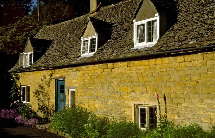 A charming Cotswold cottage, Snowshill, the Cotswolds, England