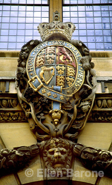 Architecture, detail, Bodleian Library, Oxford, England