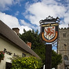 Pub, Drewe Arms, village of Drewsteignton , Dartmoor National Park, Devon, England, U.K.