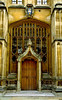 Wren's Doorway, The Divinity School, Bodleian Library, Oxford, England