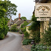Kitnor's Tea Room & Gardens, Bossington, Exmoor National Park, Somerset. England, U.K.