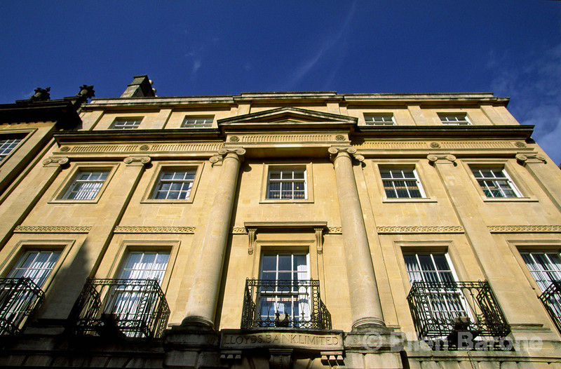 Gracious Georgian architecture has been preserved, and will continue to be protected as the city has been dedicated a UNESCO World Heritate Site, Bath, England.