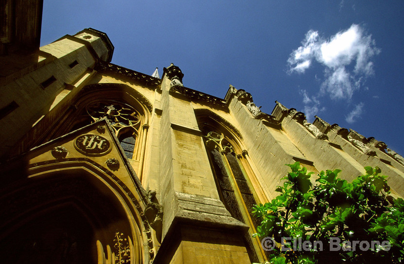 Exeter Chapel, Exeter College, Oxford, England