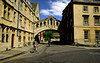 The so-called Bridge of Sighs, Hertford College's 19th century copy of the Venetian original, Oxford, England