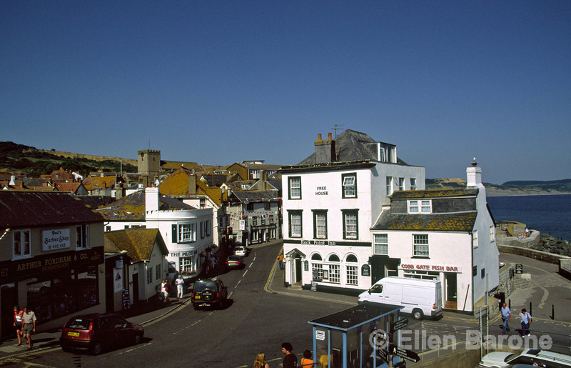 Where Dorest meets Devon and the rolling countryside tumbles to the sea nestles the charming town of Lyme Regis, Dorset, England.