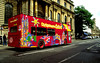 Double decker city sightseeing bus, Oxford, England