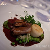 Lamb plate, the Mill End Hotel, Chagford, Dartmoor National Park.