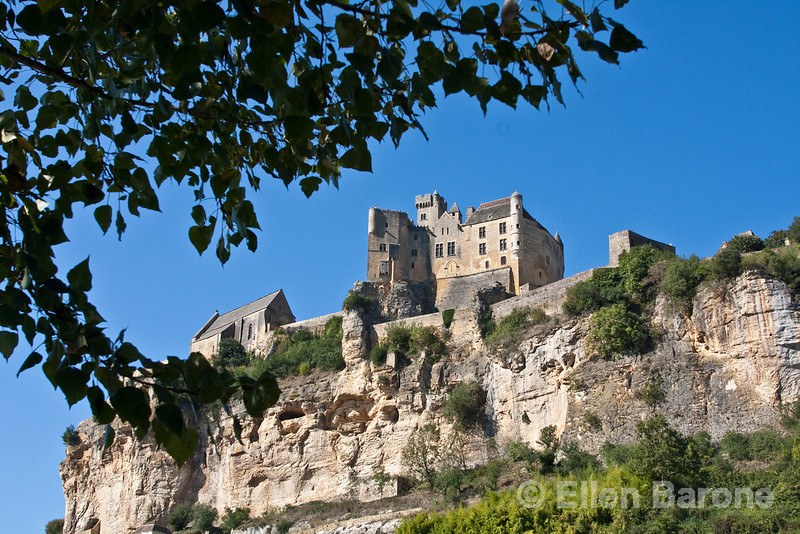 The 13th-century castle at Beynac, France.