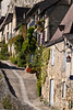 A lovely village street in the cliffside town of la Rogue Gageac, Dordogne, France.