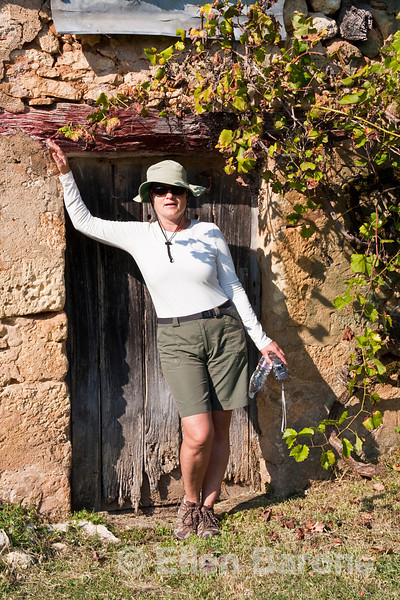 Picture perfect model, Wayfarer Cecila Sharbel, Dordogne, France.