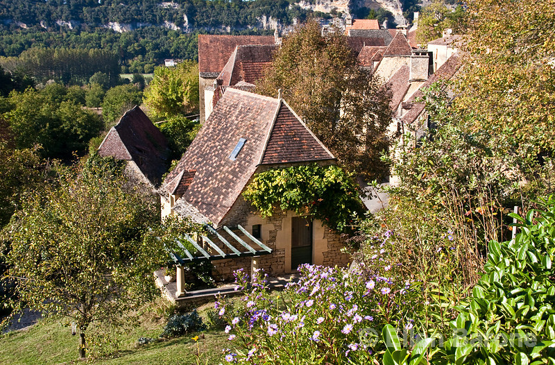 A traditional country home, Dordogne River valley, France.