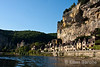 The cliffside village of la Roque Gageac and the Dordogne River, France.