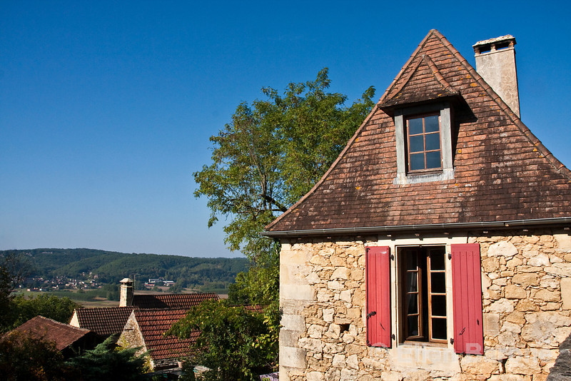 A traditional village home near Domme, France.