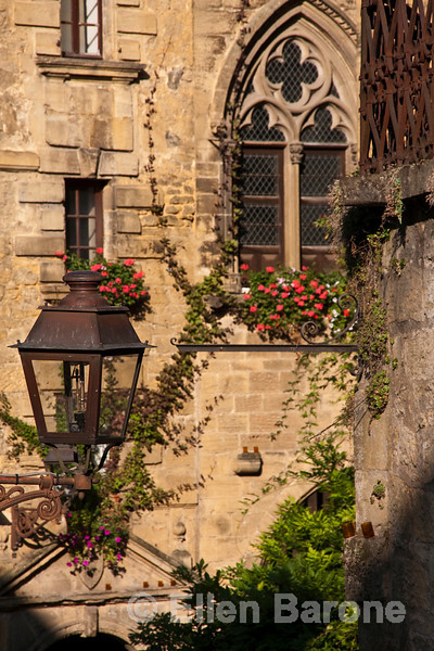 Architectural details, Sarlat, France.