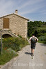 Wayfarers guide in the village of Buoux, the Luberon, Provence, France, Europe.