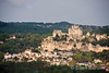View of Beynac as viewed from chateau Marquayssac, Dordogne, France.