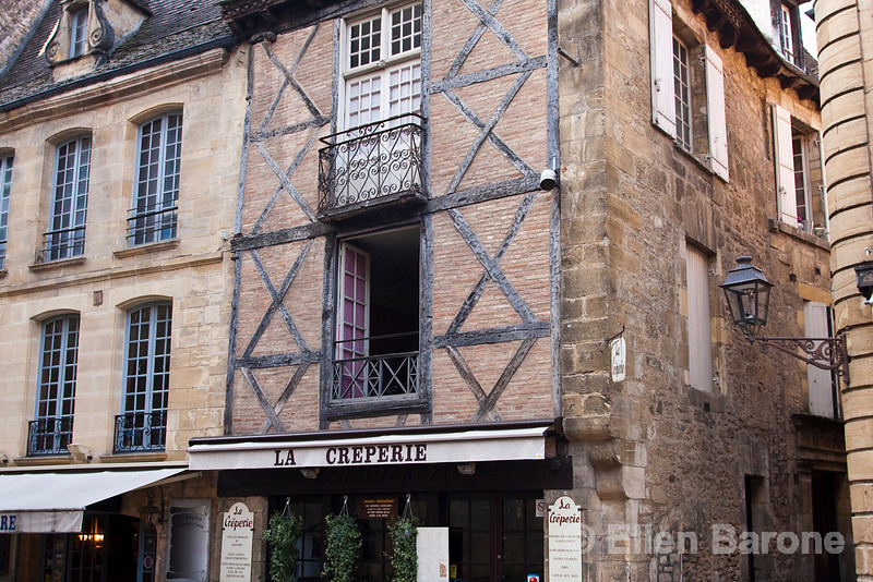 Traditional architecture, Sarlat, France.