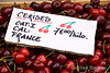 Fresh cherries, seasonal bounty,Provence, France, Europe