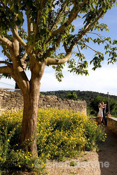 French lovers, Lourmarin, Provence, France, Europe