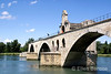 Le Pont St. Benezet - the Pont d'Avignon of nursery rhyme fame, Avignon, Provence, France, Europe.
