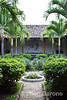 Garden courtyard, colonial mansion, Hotel La Bocona, an intimate six guest room boutique hotel in Granada, Nicaragua, Central America.