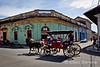 City scenes, slice of life, horse and carriage, Granada, Nicaragua.