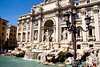Trevi Fountain, the most grandiose and famous of Rome's baroque fountains, Rome, Italy