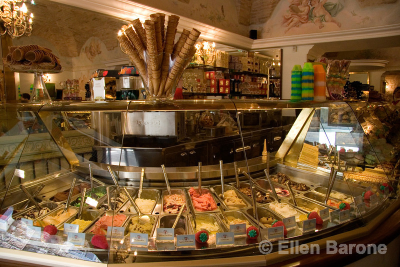 there seems to be a tempting gelati shop on every corner, Assisi, Umbria, Italy