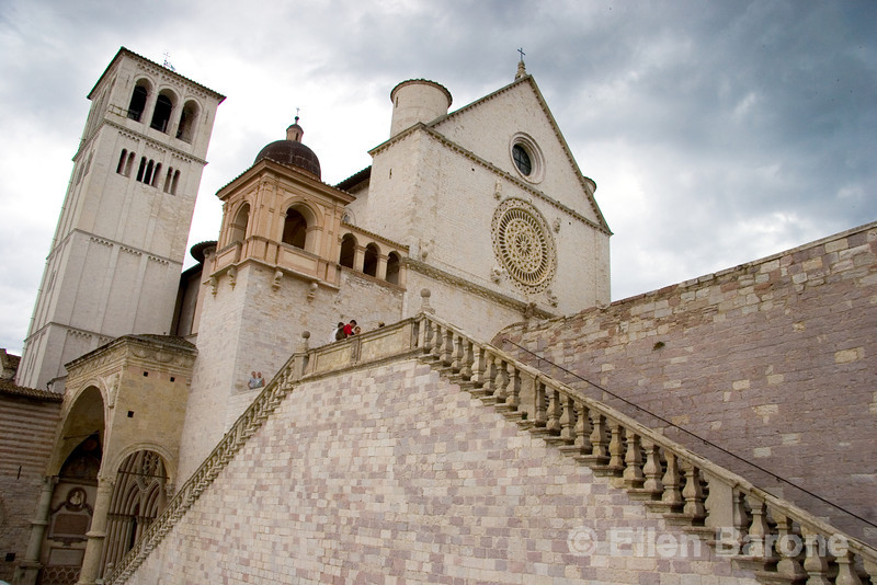 The Basilica di San Francesco (Saint Francis), Assisi, Umbria, Italy