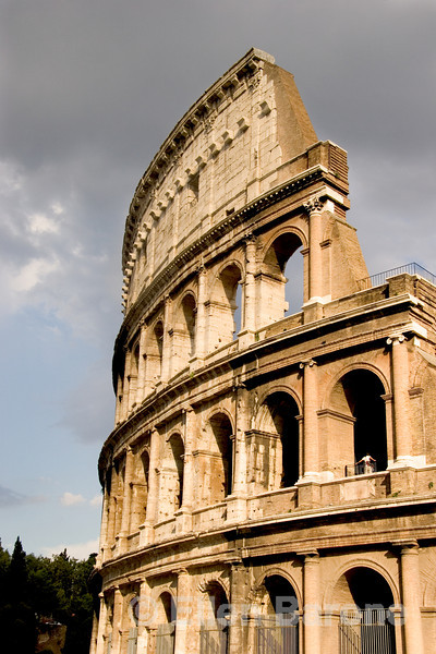 Doric, Ionic and Corinthian Tiers, the Colosseum, Rome, Italy